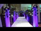 weddinng tent adjustable pipe drape booth, pipe and drape backdrop kits