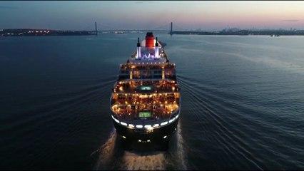 La majestueuse arrivée du Queen Mary 2 à New York