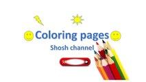 Caballos para colorear páginas para Niños caballos para colorear páginas