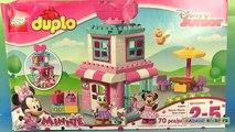 Minnie Mouse Lego Duplo La Boutique de Rubans de Minnie Jeu Construction
