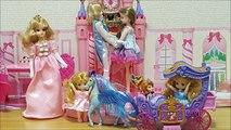 Bébé poupée anime bidon ❤ jouer à faire semblant jouets pour enfants Disney Princess poupée Toikizzu aller à la calèche Miki château Maki de Sofia sur la touche dabord