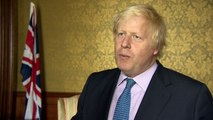 Boris Johnson urges democratic progress in Hong Kong
