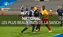 Championnat National : les plus beaux buts de la saioson 2016-2017