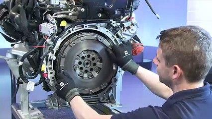 Contrôler le volant moteur bi-masse sur le moteur OM651 Contrôler le moteur OM622