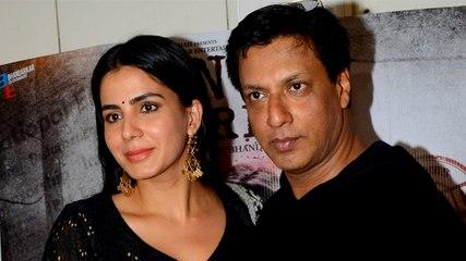 Kirti Kulhari & Madhur Bhandarkar At The Song Launch Of Indu Sarkar At Twitter Office