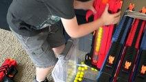 Nerf Gun Battle! Ultimate Nerf Rival Khaos Blaster Ethan Vs. Cole Nerf Gun Attack! Round 4