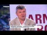 """Bernard THEVENET : """"On m'appelait le cannibal dans le Tour"""""""
