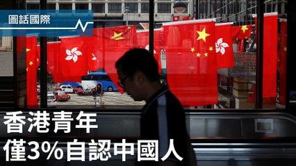 香港回歸20年,認同中國人身份的年輕人只剩3.1%