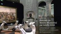 A la découverte des œuvres de Ciao Italia : le buste en bronze de Mussolini