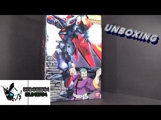 Unboxing: 1/100 MG Master Gundam
