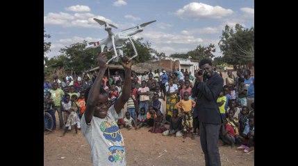 Le premier couloir aérien africain réservé aux drones ouvert par l'Unicef