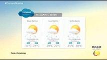 Correio Manhã  - Previsão do tempo