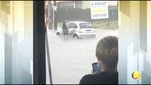 Correio Manhã - Chuvas causas transtornos em vários pontos da capital