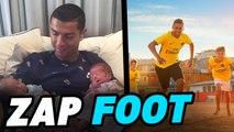 "CR7 papa de jumeaux, gros fail de Kurzawa, maillot ""Brésil"" PSG   ZAP FOOT"