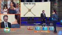 Alejandra Barros y Raul en Las Pistas de adivinaje en #programahoy