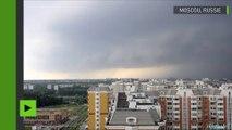 La tempête géante à Moscou en 30 secondes (images en accéléré)