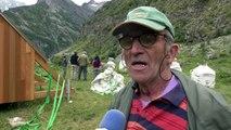 D!CI TV : Alpes du Sud : Les bergers s'approvisionnent par hélico