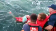 Coast Guard Rescues Child, 4 Adults Off North Carolina Coast