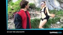 Zap Web : Une jeune femme se laisse tripoter par des inconnus pour de l'argent (vidéo)