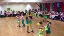 Danses à deux à Douarnenez – Gala 2017 –  enfants initiés - samba