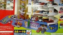 Voiture voiture bâtiment des voitures foudre déballage Tomica super garage de stationnement w disney mcqueen mater