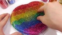 Slime Glue Toilet Glitter Poop Water Balloons DIY Learn Colors Slime Clay Toys
