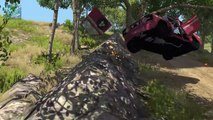 Beamng drive   Rally Crashes Extreme #1 (Real Voices)