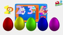 Microwave Oven Colour Soccer Balls To Learn Colors with Soccer Balls Popping ► FUN KIDS Colors