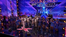 Danell Daymon & Greater Works: Choir Group Brings the House Down Americas Got Talent 2017
