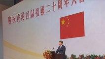Xi Jinping ofrece ayuda y fuerza económica para revitalizar Hong Kong