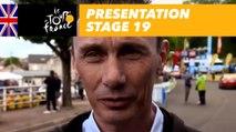 Presentation - Stage 19 - Tour de France 2017