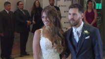 Les images du mariage de Lionel Messi et d'Antonella Roccuzzo