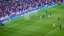 La passe aveugle de Ronaldinho pour le coup du foulard de Rivaldo lors de Barcelone-Manchester