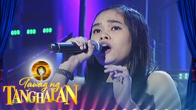 Tawag ng Tanghalan: Allaine Isabelle Go | You Don't Have To Say You Love Me