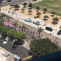 Marchers Take to Streets at San Diego Trump Impeachment Rally