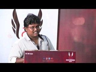 ரொம்ப நாள் கழிச்சு பெரிய ரோல் கெடச்சுருக்கு - Black Pandu at ''Pandigai'' Press Meet