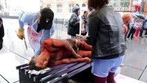 Vegan Impact : une femme « rôtie » au barbecue pour dénoncer la consommation de viande