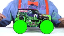 Monster Truck Toy ands for toddlers -