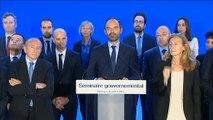 """Edouard Philippe : """"Nous ne devons pas avoir d'autre principe directeur que de dire aux Français l'état de la France"""""""