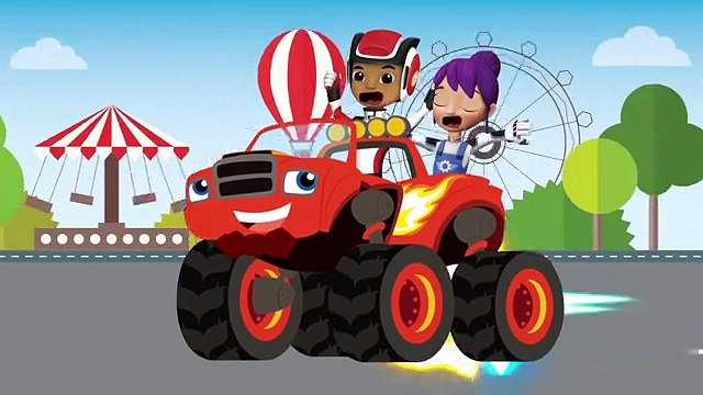 BLAZE AND THE MONSTER MACHINES Full Episodes - BLAZE AND THE MONSTER MACHINES