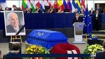 Hommage à Helmut Kohl: l'ancien chancelier fait citoyen d'honneur de l'Europe par le Parlement
