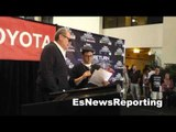 rob schneider and boxing promoter dan goossen EsNews Boxing