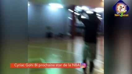 #Hashtag - Cyriac Gohi BI prochaine star de la NBA