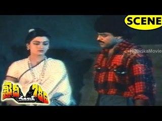 Mohan Babu Tries To Rape Bhanupriya & Blames Chiranjeevi || Khaidi No.786 Movie Scenes