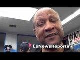 Ronnie Shields on ward vs rodriguez EsNews Boxing