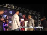 weigh ins at he bkb EsNews Boxing