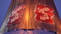 Santa Claus Village in Lapland in 4K video  Father Christmas Rovaniemi Finland