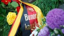 Helmut Kohl son yolculuğuna uğurlandı