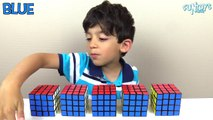 Learn Colors with Rubiks Cube for Children, Toddlers and Babies Fun Kids Educati