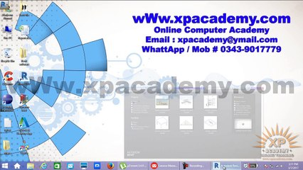 Revit User Interface in urdu Tutorials | xpacademy